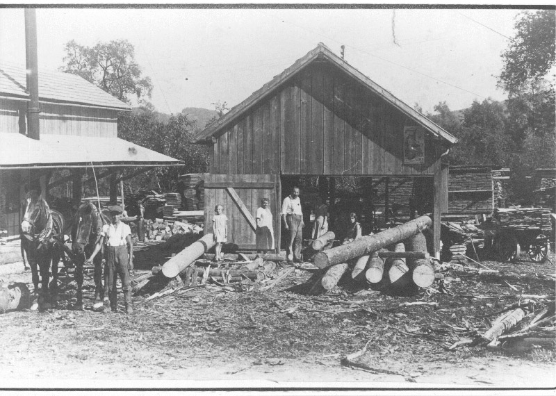 Familie Campestrini 1920