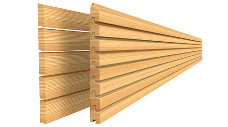 Holzfassadensysteme geschlossene Holzfassade oder offene Holzfassade
