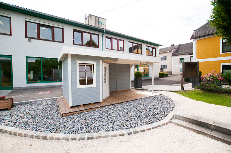 WECA Gartenhaus im Schaugarten Ottensheim