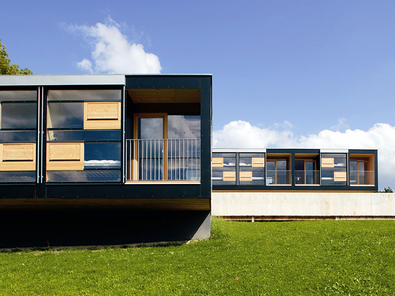 Haus fasse mit holzelementen serafin campestrini gmbh for Raumgestaltung app