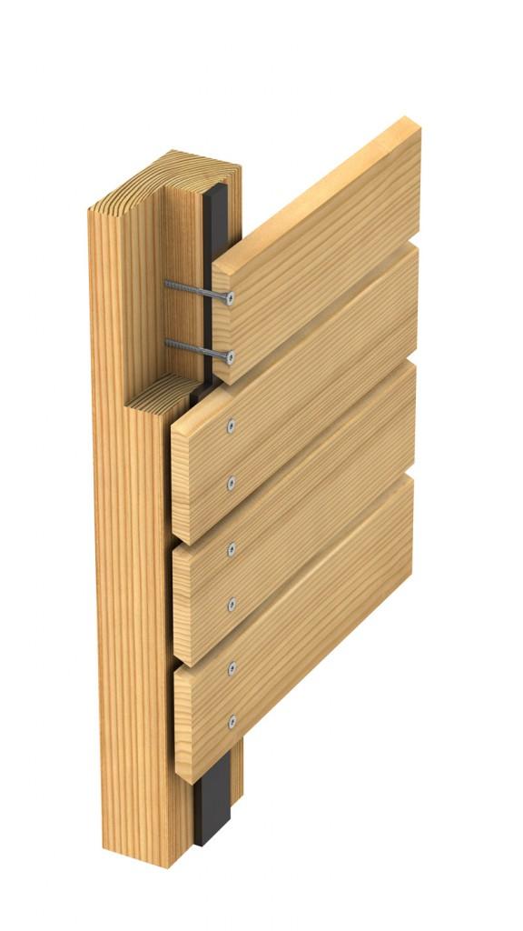 befestigungssysteme f r holzfassaden montagefreundlich. Black Bedroom Furniture Sets. Home Design Ideas