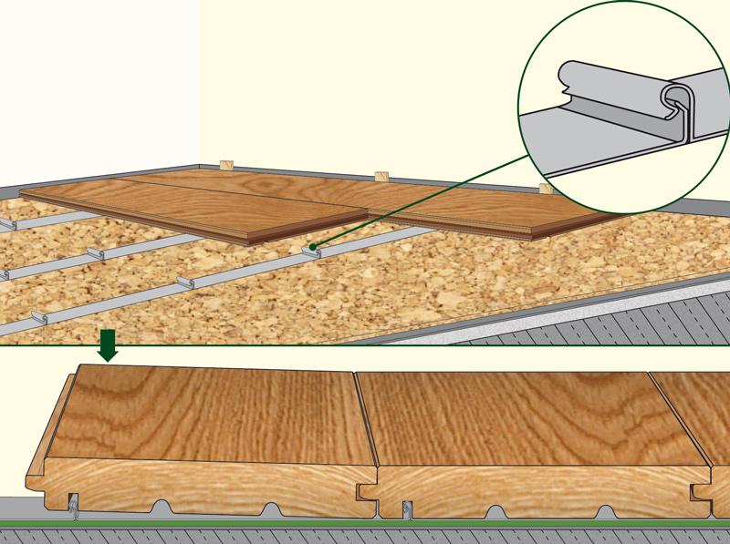 Fabulous Holzboden selber verlegen? Ganz einfach! NI55