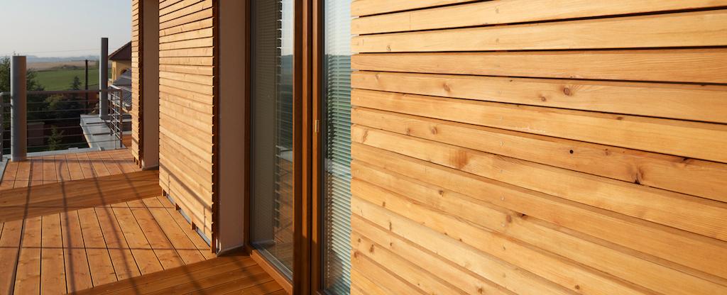 fassade laerche rhombus haus serafin campestrini gmbh. Black Bedroom Furniture Sets. Home Design Ideas