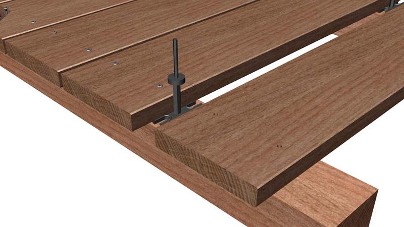 Etwas Neues genug Holzterrasse & Terrassendielen selbst verlegen? Ganz einfach! &LC_62