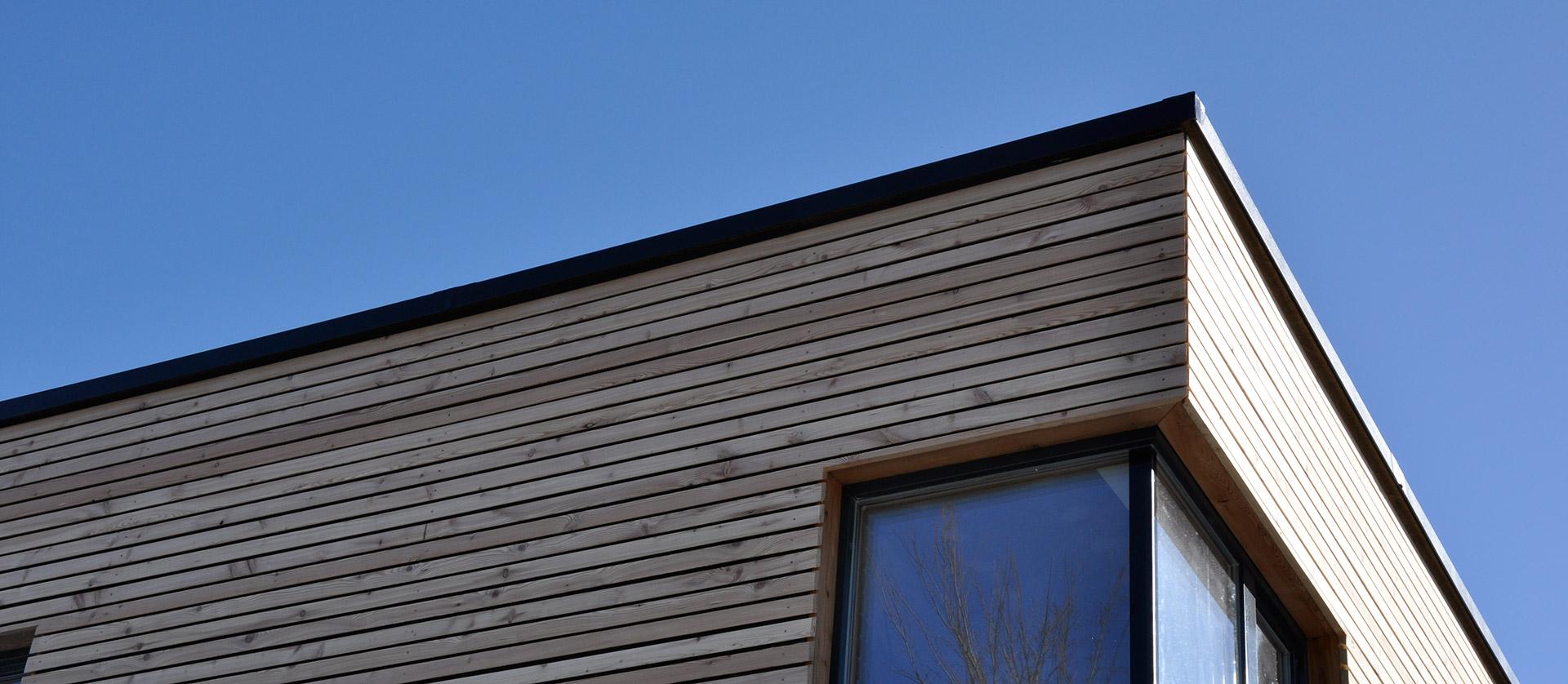 Holz-Fassade - Serafin Campestrini GmbH - Ihr Partner in Sachen Holz