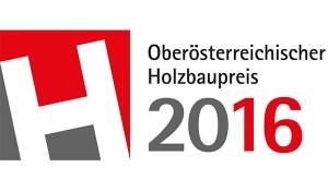 Logo des Oberösterreichischen Holzbaupreis 2016