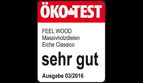 """""""FEEL WOOD"""" Ist ÖKO-Test Sieger Mit Note """"Sehr Gut"""