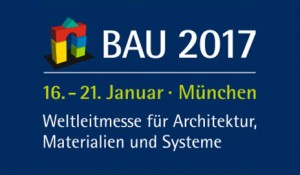 BAU 2017 - Weltleitmesse für Architektur, Materialien und Systeme