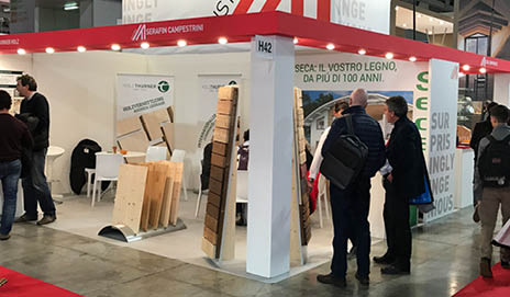 SECA Ottensheim startet in Italien durch - auf der MADE expo in Mailand