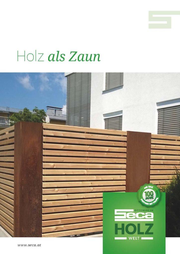 Katalog Holz als Zaun