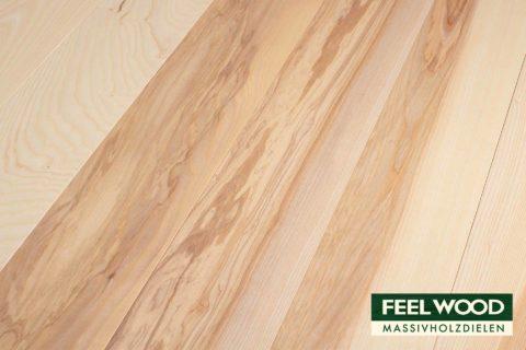 Esche europäisch Massivholzdiele Rustic (2 x Edelmatt geölt/gebürstet) - 1