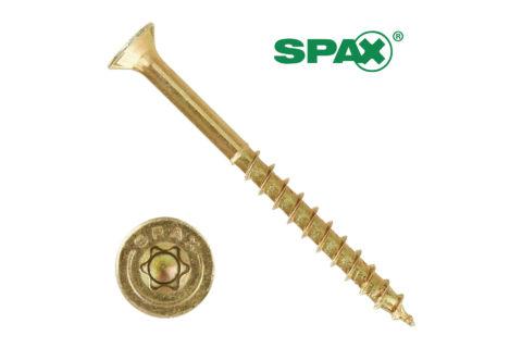 Torx – Spanplatenschrauben (Gelbverzinkt) - 1