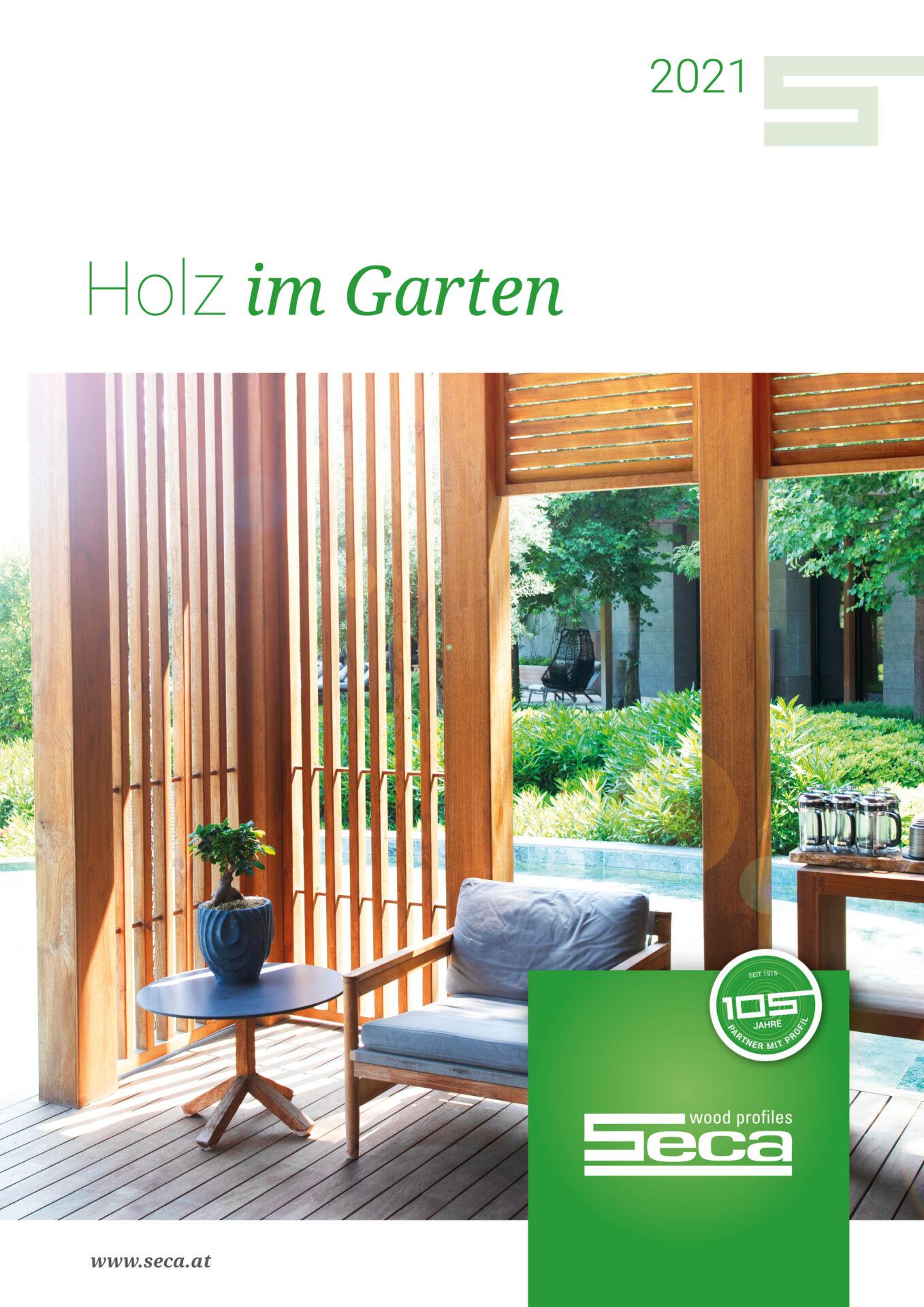 Katalog Holz im Garten