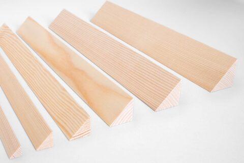 Dreikantleiste Fichte/Tanne - 1