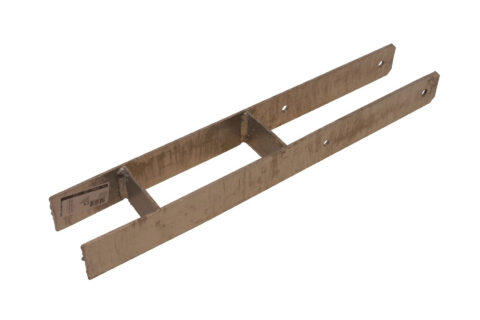 Pfostenträger H, zum Einbetonieren 91 mm verzinkt - 1