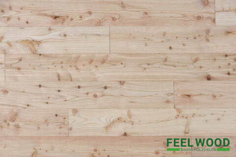 Lärche heimisch Massivholzdiele A/B (gebürstet) - 1