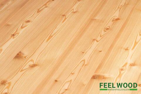 Lärche sibirisch Massivholzdiele A (2 x natur geölt) - 1
