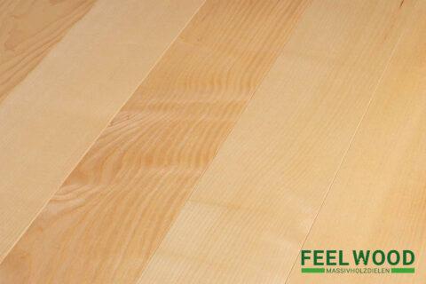 Esche europäisch Massivholzdiele Select/Natur (2 x natur geölt) - 1