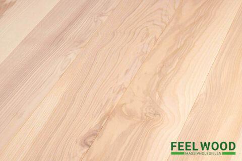 Esche europäisch Massivholzdiele Markant (2 x weiß geölt) - 1