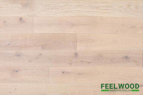 Eiche Massivholzdiele Markant (2 x weiß geölt) - 1