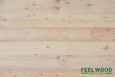Lärche sibirisch Massivholzdiele A/B (2 x Edelmatt geölt/gebürstet) - 1