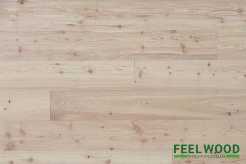 Lärche sibirisch Massivholzdiele A (2 x Edelmatt geölt & gebürstet) - 1
