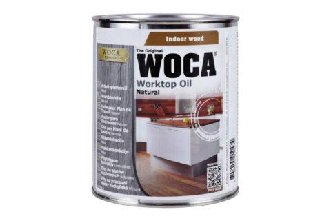 WOCA Arbeitsplattenöl Natur (0,75L) - 1