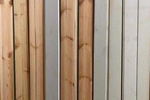 Kiefer Fase grau lasiert - 1